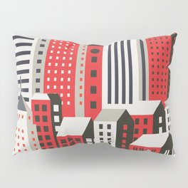 Urban city Pillow Sham