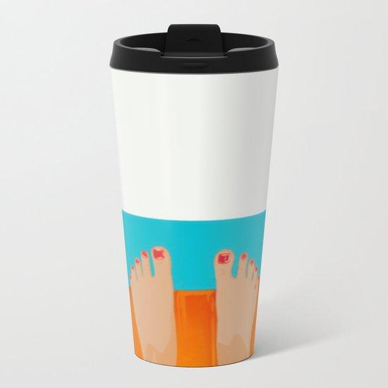 I´m fine Metal Travel Mug