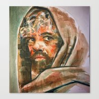 tyrion Canvas Prints featuring Tyrion  by scott bratek