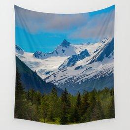 Bear_Creek Mountain Glacier - Alaska Wall Tapestry