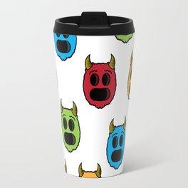 Monster Pattern Travel Mug