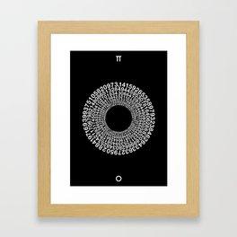 TRANSCENDENCE OF PI Framed Art Print