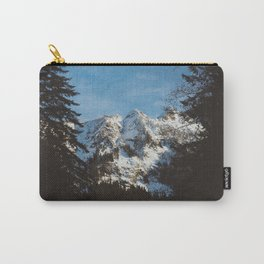 Rustic mountain Carry-All Pouch