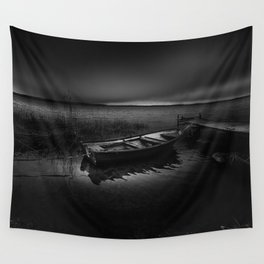 On the wrong side of the lake Wall Tapestry