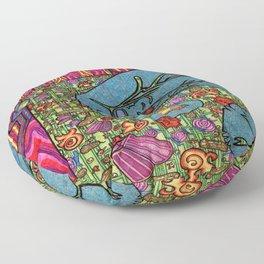 Circus Elephant Floor Pillow