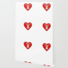 LOVE Basenji Cute Dog Gift Idea Wallpaper