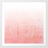 ombre Art Prints featuring Ombre  by cafelab