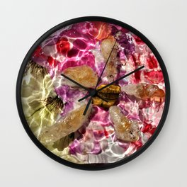 Rockstar of Spring Wall Clock