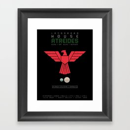 House Atreides Framed Art Print