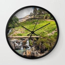 Mountain Bridge Wall Clock