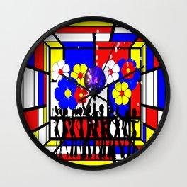 Disco Jive Wall Clock