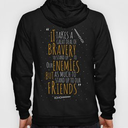The bravery to stand up to our enemies and our friends Hoody
