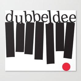 dubbeldee Canvas Print