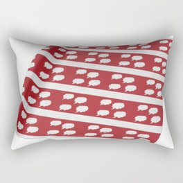 wrapped up thinking about you Rectangular Pillow