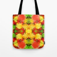 fruits Tote Bags featuring Fruits by Veronika