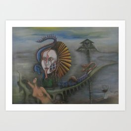 Returning to the Road Art Print