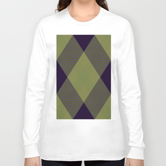Tartan Pattern 2 Long Sleeve T-shirt