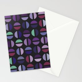 Purple Color Combinations Stationery Cards