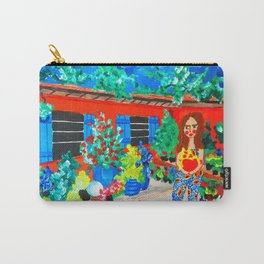 Flowershop Carry-All Pouch