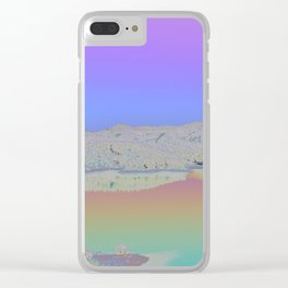 Chromascape 3 (Cyprus) Clear iPhone Case