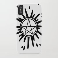supernatural iPhone & iPod Cases featuring Supernatural  by Elisehill3