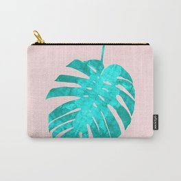 Minimalist tropical leave Carry-All Pouch