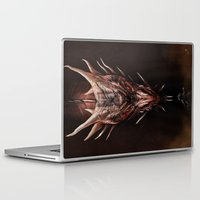 smaug Laptop & iPad Skins featuring Smaug And The Thief by Andy Fairhurst Art