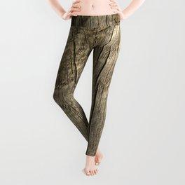 Texture #1 Wood Leggings