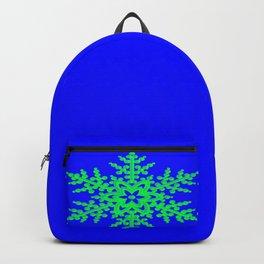 Snowflake in Blue Field, Gift Backpack