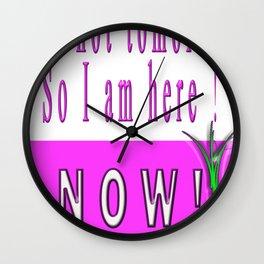 I am ! Wall Clock