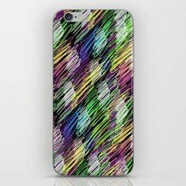 pattern crayon iPhone Skin