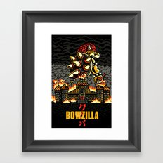 BOWZILLA Framed Art Print