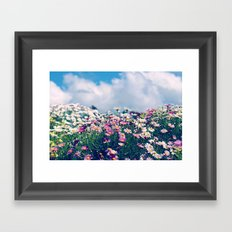 Spring Things Framed Art Print