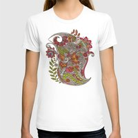 random T-shirts featuring Random Flowers by Valentina Harper