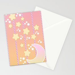Tutti Fruity Moon Star Stationery Cards