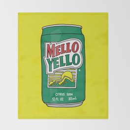 Mello Yello Throw Blanket