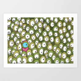 Pingo's People (Dare to be Different!) Art Print