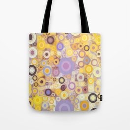 Purple Yellow Washing Machine Cycle Tote Bag