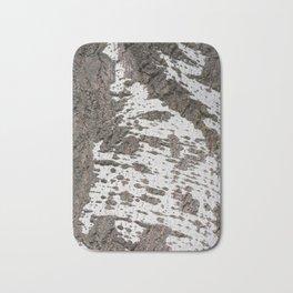 Birch bark pattern Bath Mat