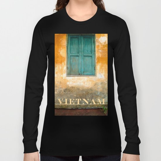 Antique Chinese Wall of Hoi An Long Sleeve T-shirt