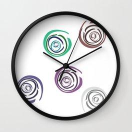 Mel Ambur Nell Wall Clock