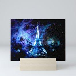 paRis galaxy dreams Mini Art Print
