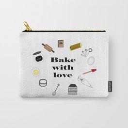 Bake with love Carry-All Pouch