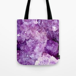 Purple Gems Tote Bag