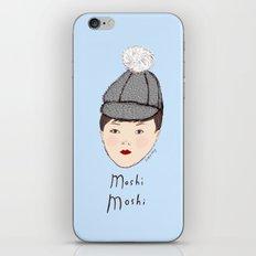 Moshi Moshi - Blue iPhone & iPod Skin