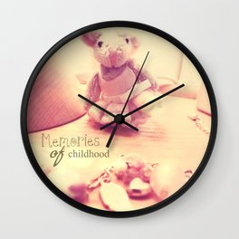 Memories of Childhood Wall Clock