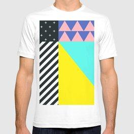 Memphis pattern 90 T-shirt
