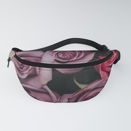 Purple Roses Fanny Pack