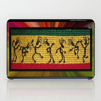 reggae iPad Cases featuring lively up reggae dancers by dedmanshootn