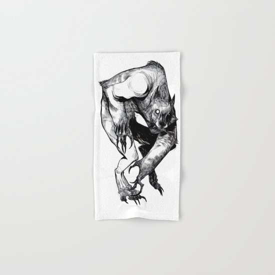 The Werewolf Hand & Bath Towel